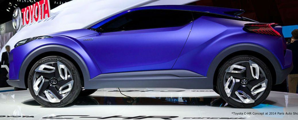 What is the Toyota C-HR Concept Design at J. Pauley Toyota-Fort Smith AR-Toyota C-HR Concept at 2014 Paris Auto Show