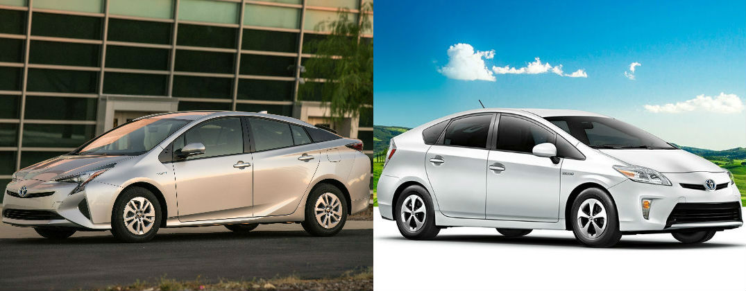 Differences Between The 2016 Toyota Prius And 2017 At J Pauley