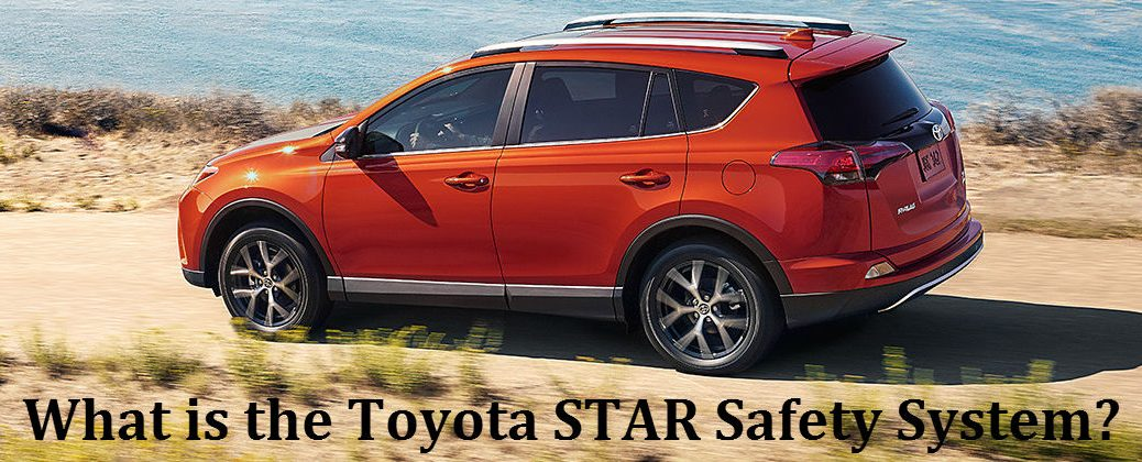What is the Toyota STAR Safety System at J. Pauley Toyota-Fort Smith AR-Orange 2016 Toyota RAV4 on the Trail