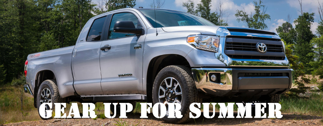 Gear Up for Adventure this Summer with Toyota Tundra Accessories