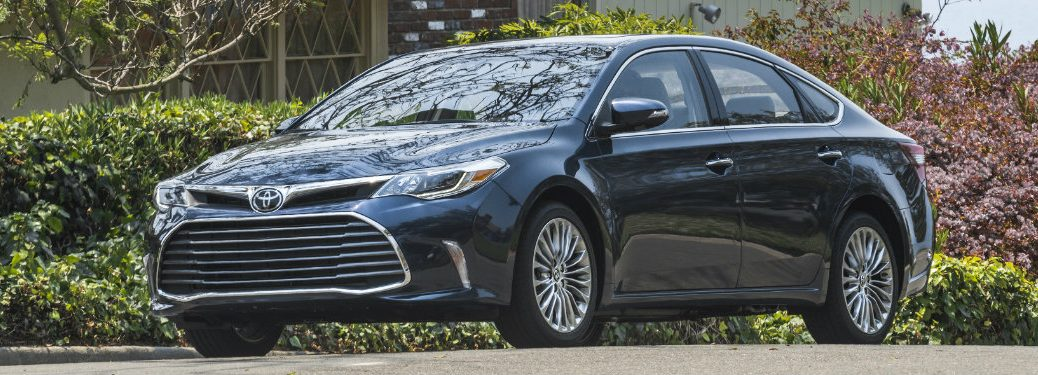 Official 2017 Toyota Avalon Design and Specs