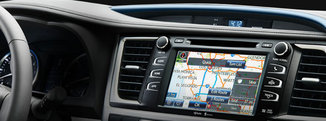How To Use Toyota Entune Scout® GPS Applications in Your Toyota Camry