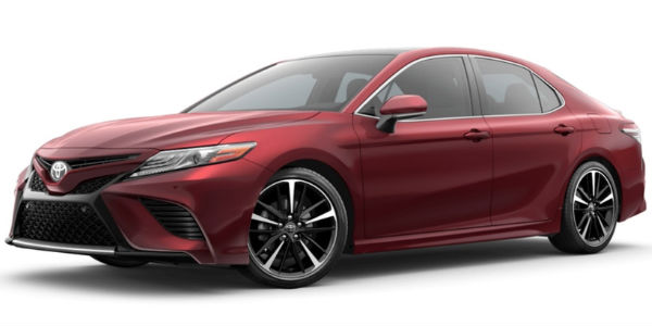 Ruby Flare Pearl 2018 Toyota Camry Exterior