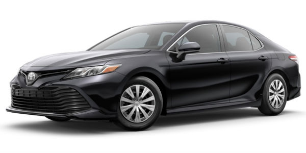 Midnight Black Metallic 2018 Toyota Camry Exterior