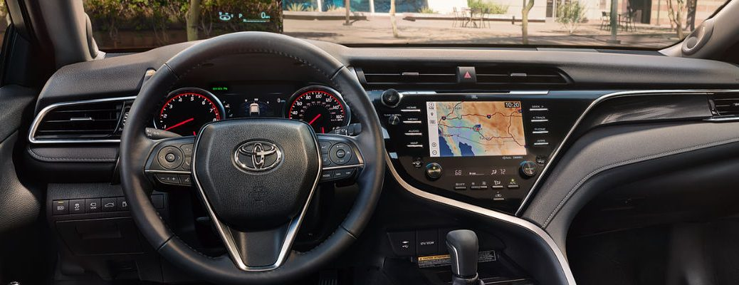 2018 Toyota Camry Dashboard With 10 Inch Color Hud 7 Multi