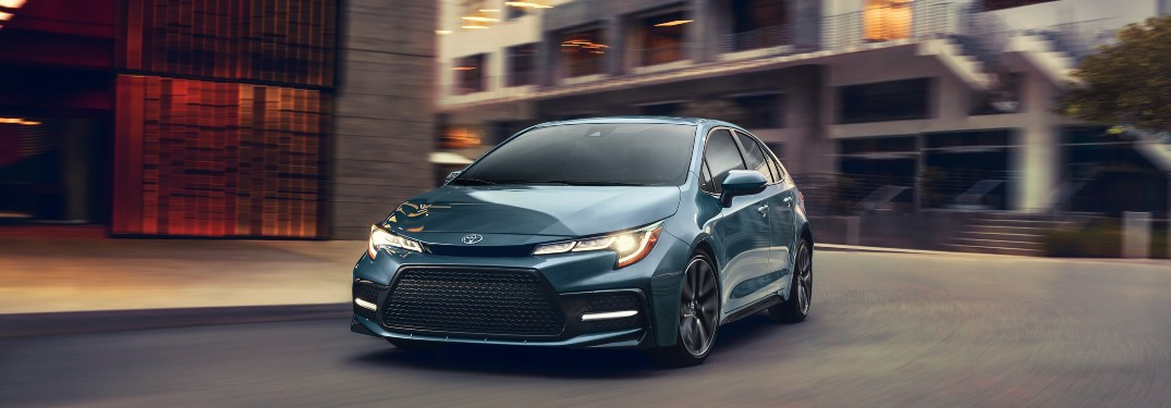 How Many Exterior Colors are Available for the 2020 Toyota Corolla?