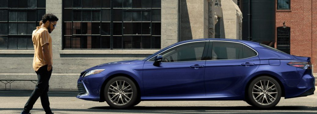 2021 Toyota Camry from the side