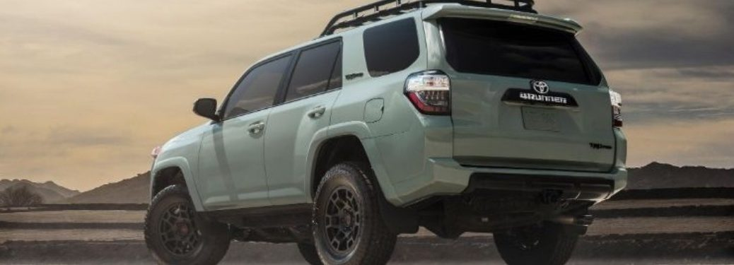 2021 Toyota 4Runner parked off-road