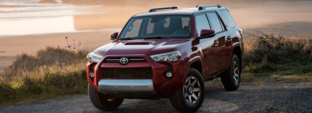 2021 Toyota 4Runner driving down a rural road