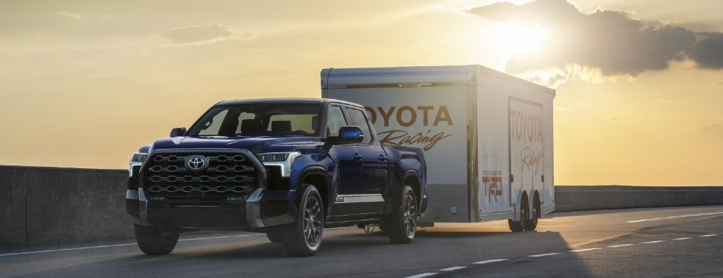 2022 tundra towing a trailer