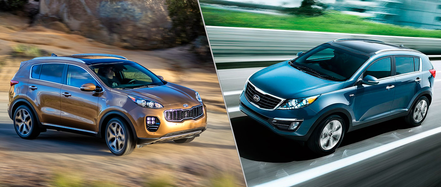 What is the difference between the 2016 and 2017 Kia Sportage?
