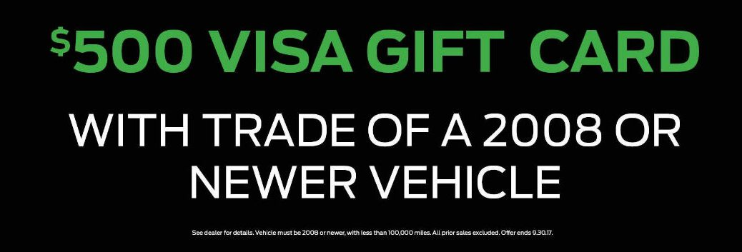Kia Visa gift card for Boucher Kia Racine Milwaukee WI area