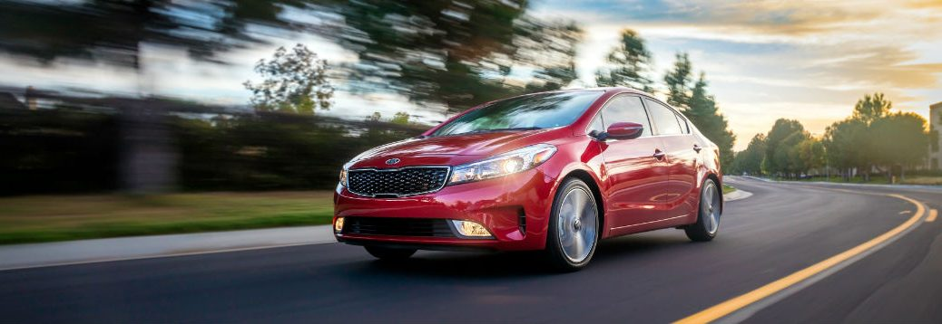 2018 Kia Forte in Currant Red exterior paint color