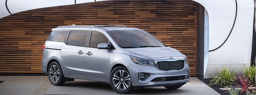 How much can you store inside the 2019 Kia Sedona?