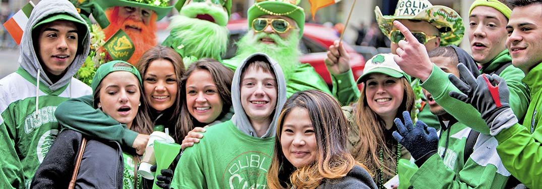 St Patrick's Day 2019 events happening in Racine, WI