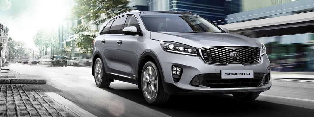 What is the recommended tire pressure for the 2019 Kia Sorento?