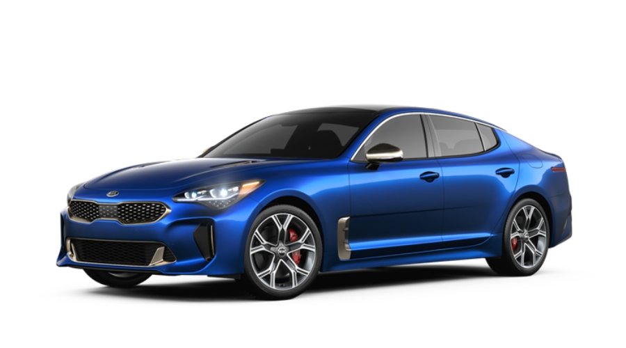 2019 Kia Stinger in Micro Blue Pearl