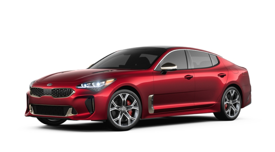 2019 Kia Stinger in HiChroma Red