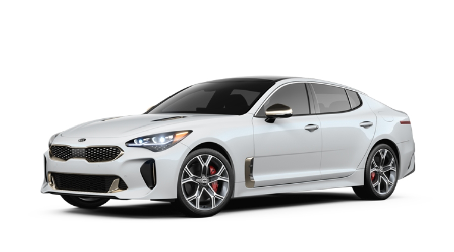 2019 Kia Stinger in Snow White Pearl