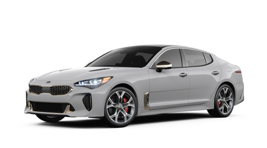 2019 Kia Stinger in Ceramic Silver
