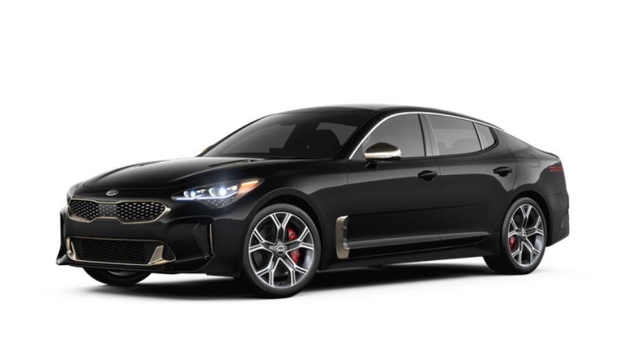 2019 Kia Stinger in Aurora Black Pearl