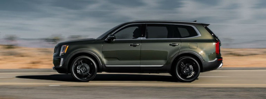 What are your paint color options for the 2020 Kia Telluride?