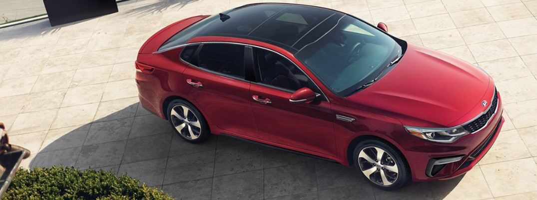 What are the power ratings of the 2019 Kia Optima?