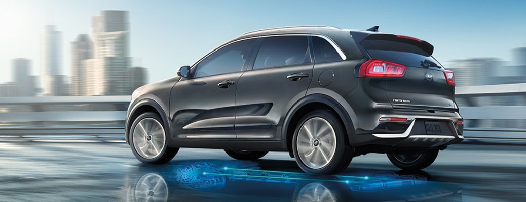 What are the exterior color options for the 2019 Kia Niro?