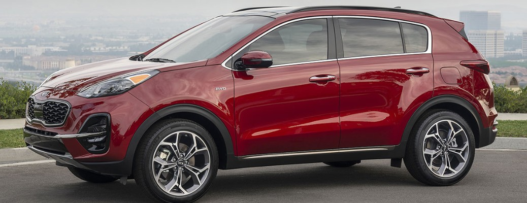 Exterior paint color options available on the 2020 Kia Sportage