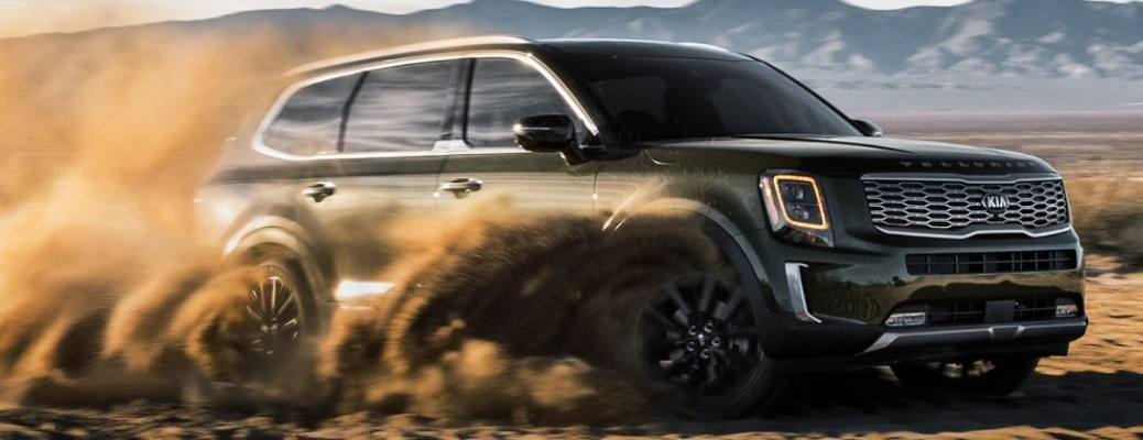 What is the recommended tire pressure for the 2020 Kia Telluride?