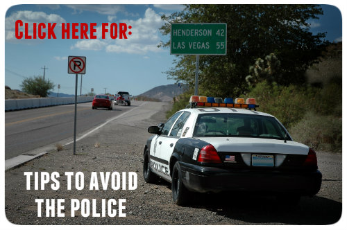 Tips to avoid police