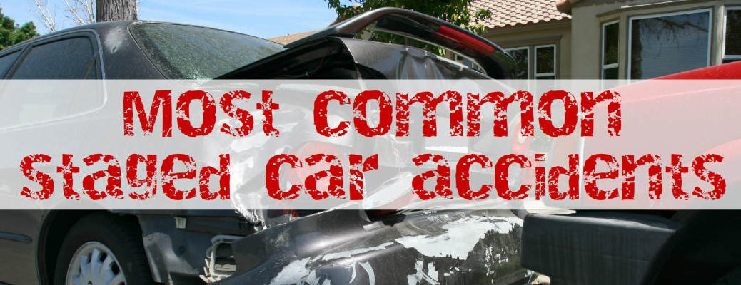 Signs of a staged car accidents
