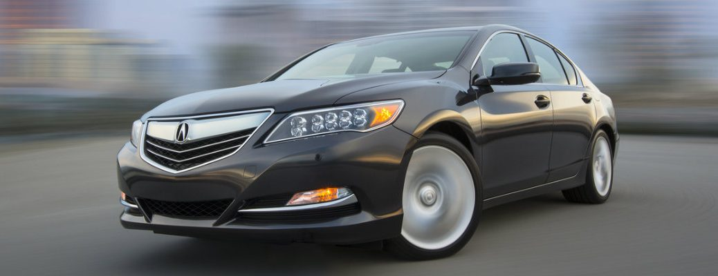 2017 Acura RLX features