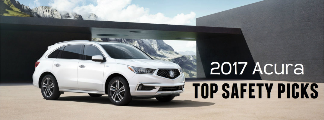 2017 Acura TOP SAFETY PICKS