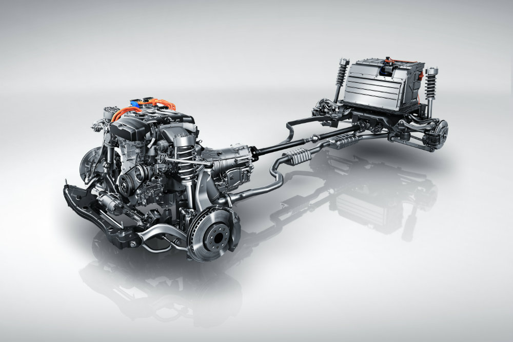 engine and motors of the 2017 Cadillac CT6 Plug-In
