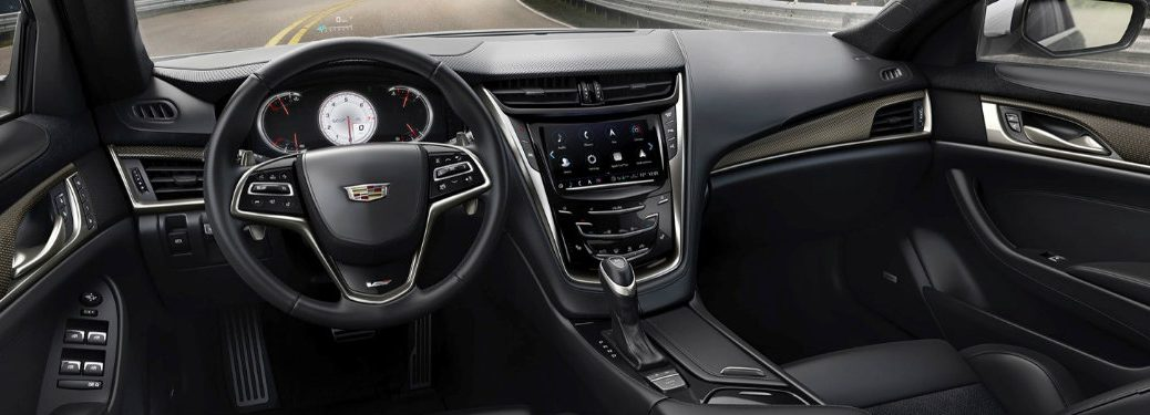 2017 Cadillac CTS User Experience System