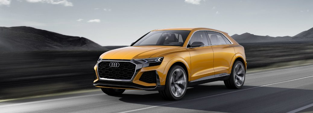 Audi Q8 Sport Concept Debut at the 2017 Geneva Motor Show