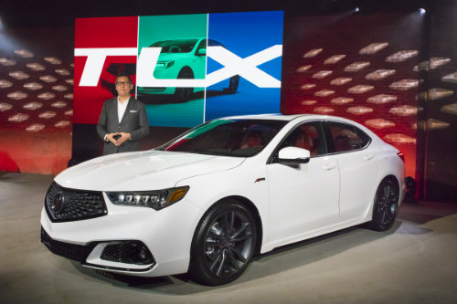 2018 Acura TLX at its grand reveal