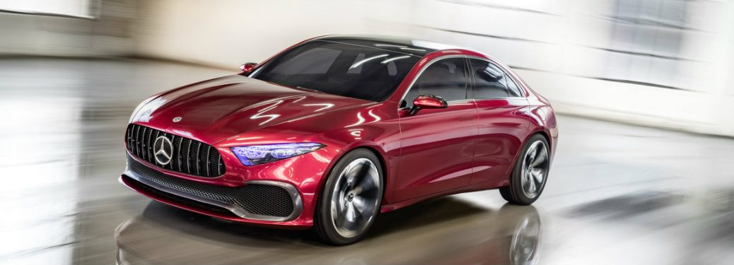 What is the Mercedes-Benz Concept A Sedan?