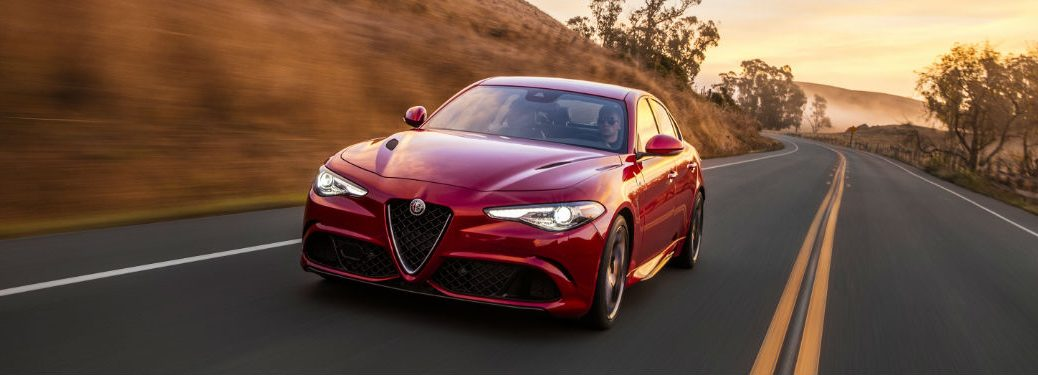 Interior Customization Options on the 2017 Alfa Romeo Giulia