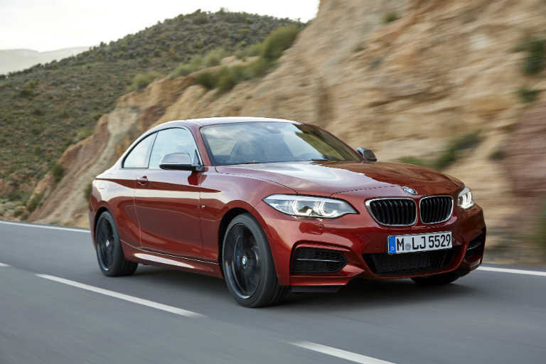 2018 BMW 2 Series Coupe looking extremely attractive