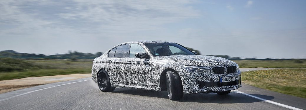 2018 BMW M5 All-Wheel Drive Performance