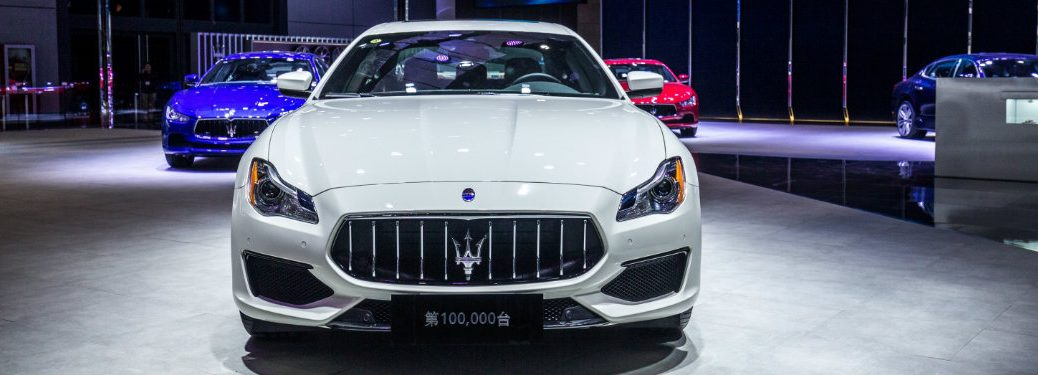 Maserati at the 2017 Shanghai Auto Show