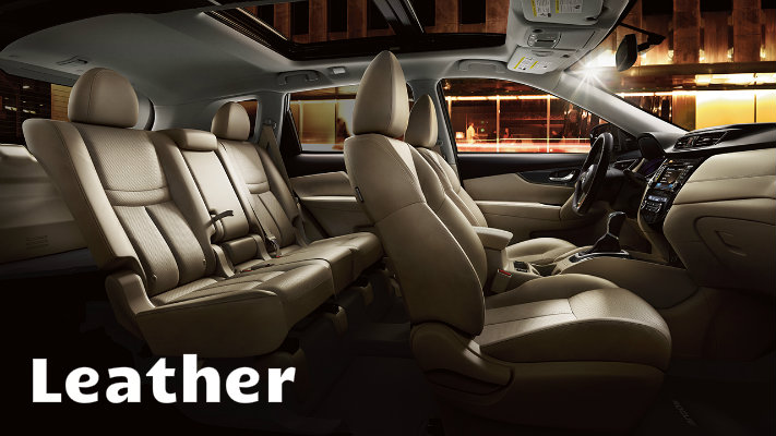 Leather vs. leatherette comparison interior vehicle upholstery