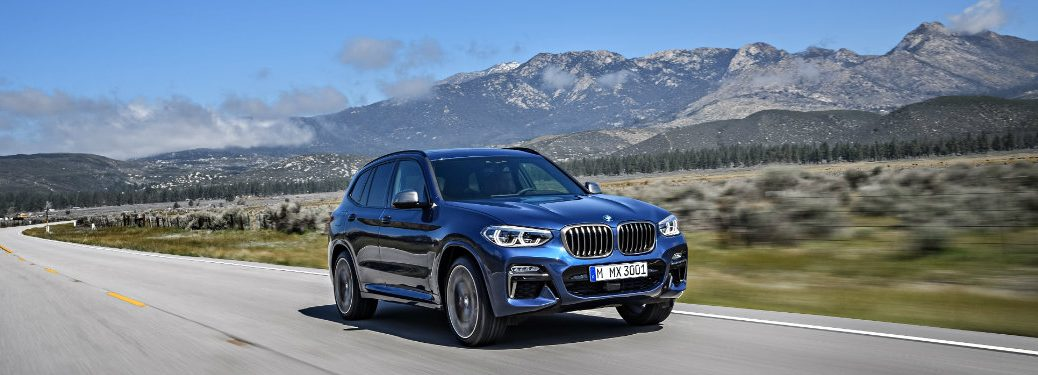 2018 BMW X3 Model Options