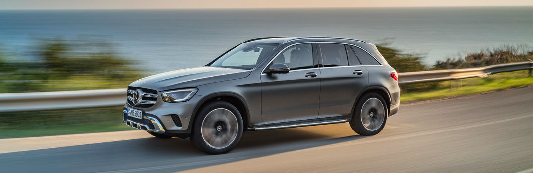 Cargo space in the 2020 GLC