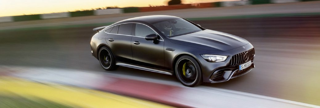 Mercedes-Benz AMG® GT on a race track