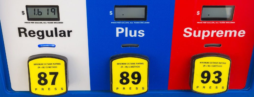 A stock photo of a gas pump.