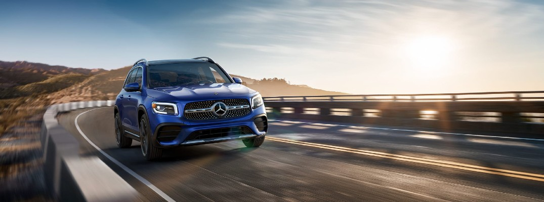 The 2021 Mercedes-Benz GLB offers flexible passenger and cargo solutions