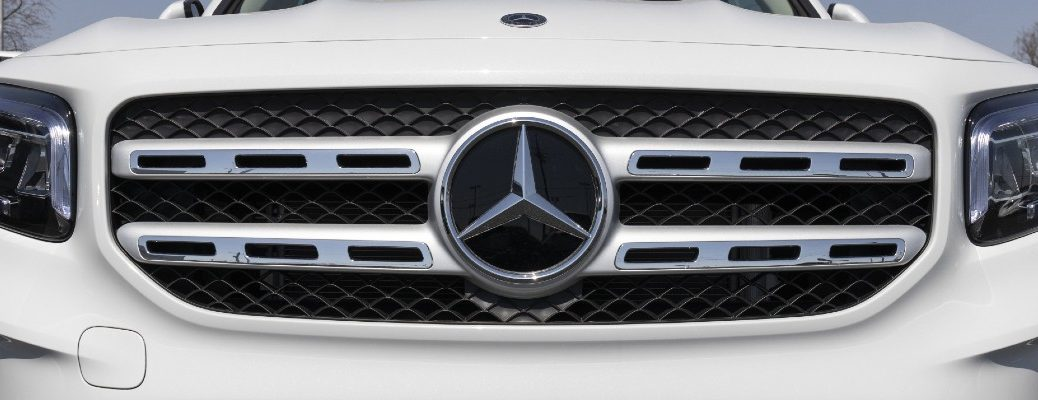 A stock photo of a Mercedes-Benz vehicle.
